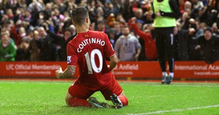 Philippe Coutinho shirt number