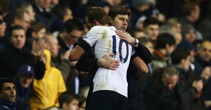 Mauricio Pochettino: Manager embraces two-goal hero Kane