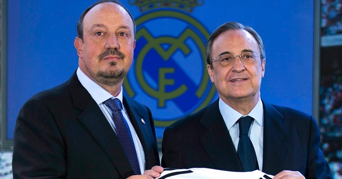 Benitez & Perez: Wish Real Madrid fans a Happy Christmas