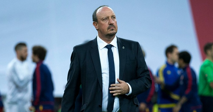 Rafael Benitez: Already under pressure as Real Madrid manager