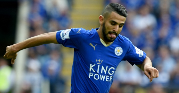 Riyad Mahrez: Xavi likes the look of Leicester playmaker