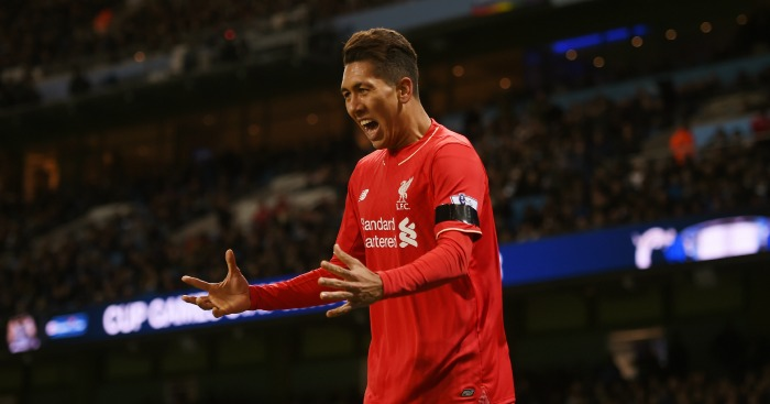 Roberto Firmino: Forward starred in Liverpool's win at Man City