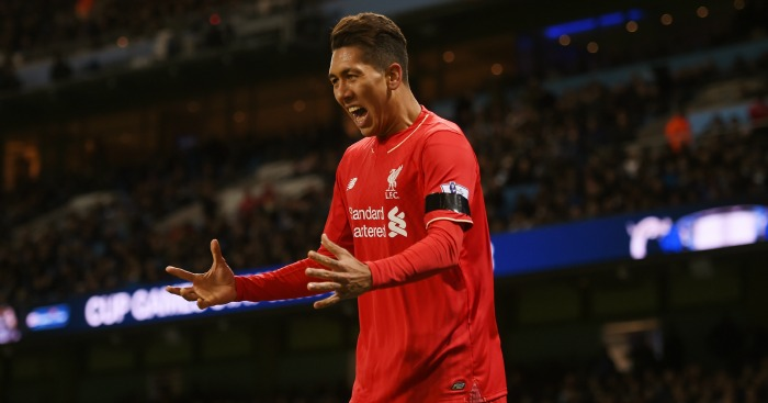Roberto Firmino: Has impressed for Liverpool in the big games