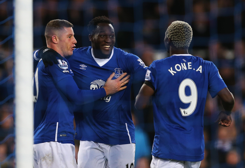 Romelu Lukaku, Ross Barkley, Arouna Kone: Starred for Everton