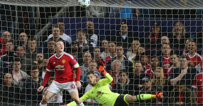 Rooney & De Gea: Duo admired by La Liga cheif Tebas