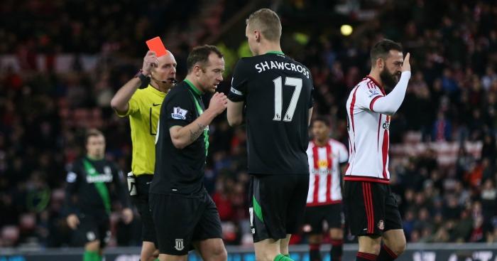 Ryan Shawcross: Stoke captain incorrectly sent off at Sunderland
