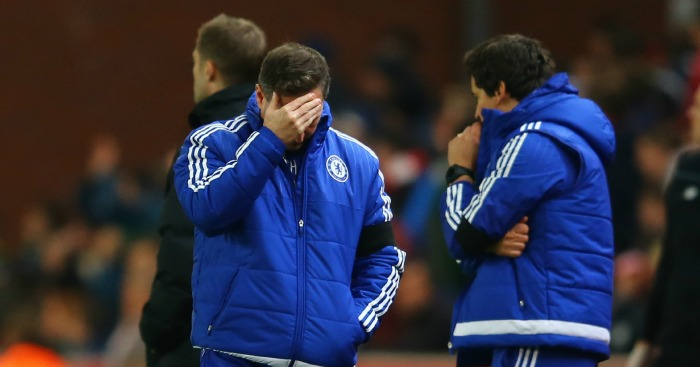 Steve Holland: On the touchline for Chelsea in Jose Mourinho's absence