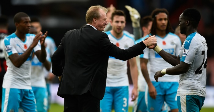 Steve McClaren: Insists Newcastle players are trying