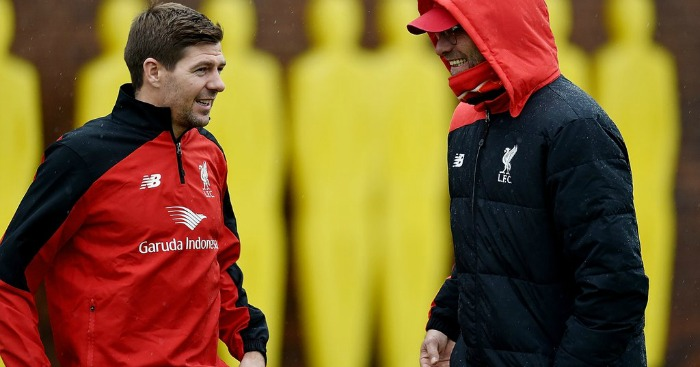 Steven Gerrard To take a role under Jurgen Klopp