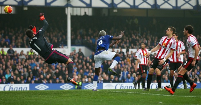 Leaky: Allardyce saw Sunderland fold in the second half at Everton