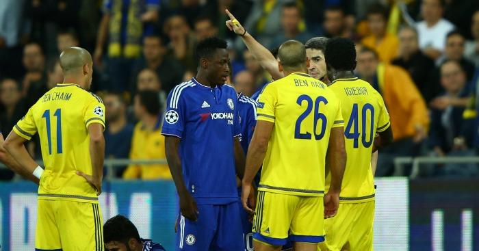 Tel Ben Haim red card Chelsea