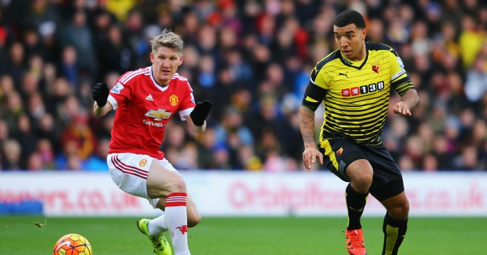 Troy Deeney: Watford striker scored past both goalkeepers
