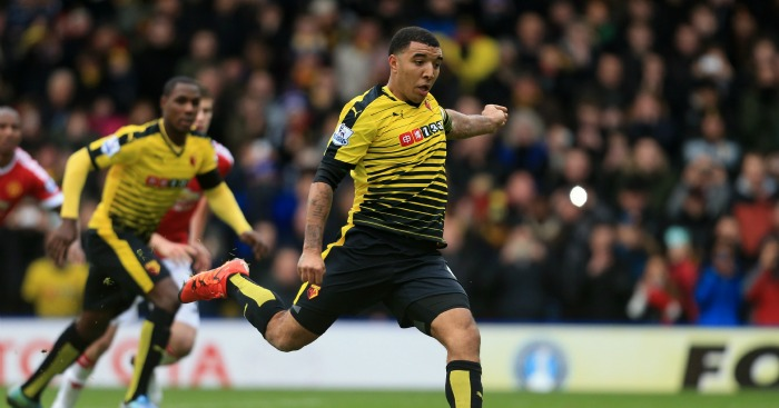 Troy Deeney: Striker played for Aston Villa's academy