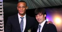 Vincent Kompany & David Silva: Missed training on Tuesday