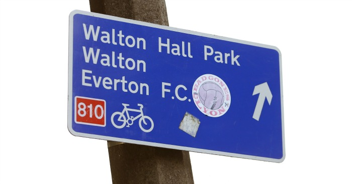 Walton Hall Park: Proposed site for new Everton stadium