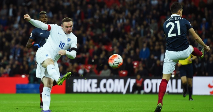 Wayne Rooney: Volleys in England's second against France