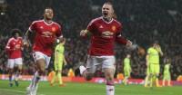 Wayne Rooney: Celebrates scoring for Manchester United against CSKA Moscow