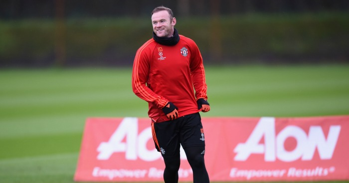 Wayne Rooney: Captain returned to Man Utd training