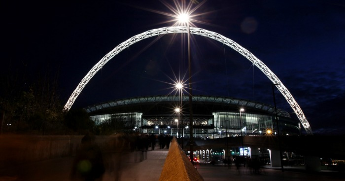 Wembley Stadium: Will host Spurs next season