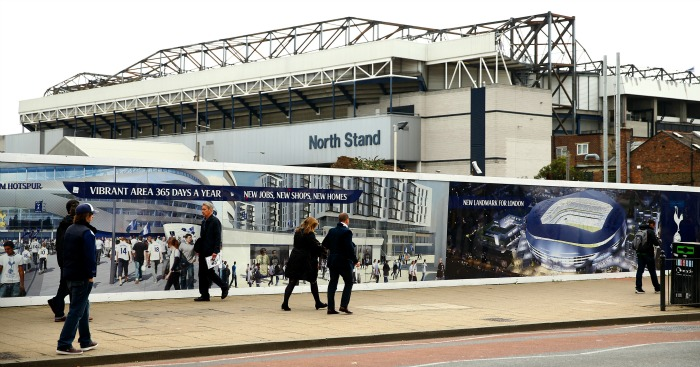 White Hart Lane: Tottenham could temporarily move home