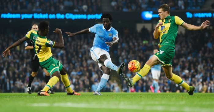 Wilfried Bony: Striker yet to hit his straps at Manchester City