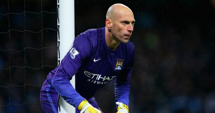 Willy Caballero: Retains place in Manchester City goal