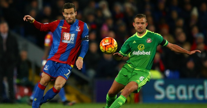 Yohan Cabaye: Battles with Lee Cattermole for the ball