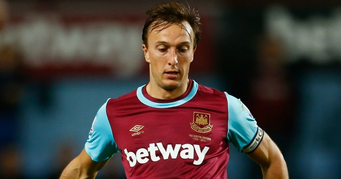Mark Noble: Doubted penalty decision