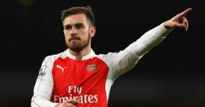 Aaron Ramsey: Happy to play in central role for Arsenal