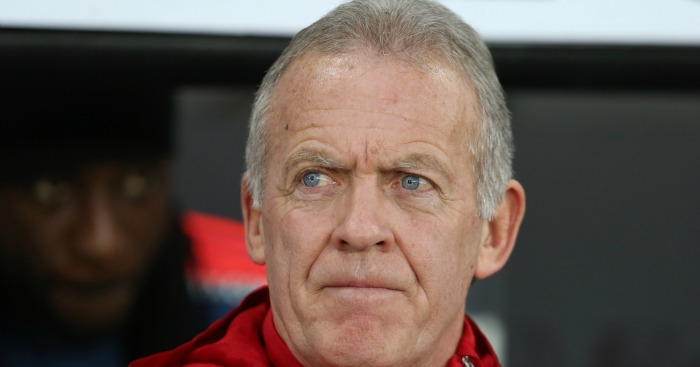Alan Curtis: Manager happy with Swansea City performance