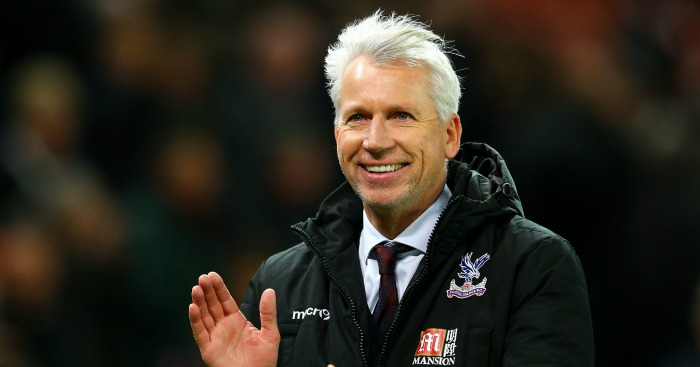 Alan Pardew: Manager has guided Crystal Palace to sixth