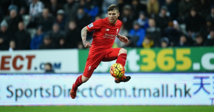 Alberto Moreno: Had goal disallowed in Liverpool's defeat at Newcastle United