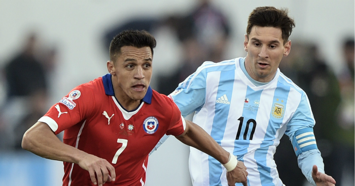 Alexis Sanchez & Lionel Messi: Both in the top 10 stars of 2015
