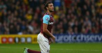 Andy Carroll: Picked up a groin injury