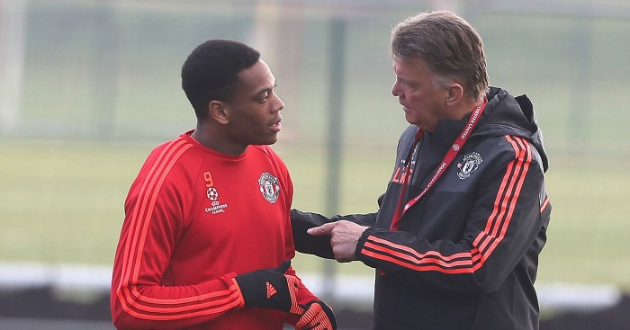 Louis van Gaal: Being asked to play out wide by Van Gaal