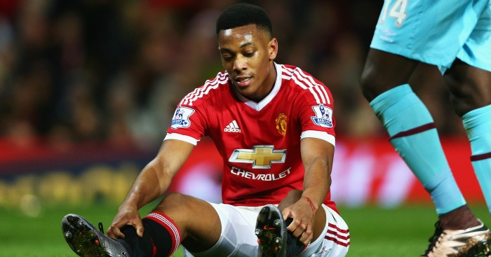Anthony Martial: Now way through for Manchester United