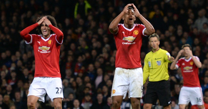 Anthony Martial: Striker guilty of missing good chance
