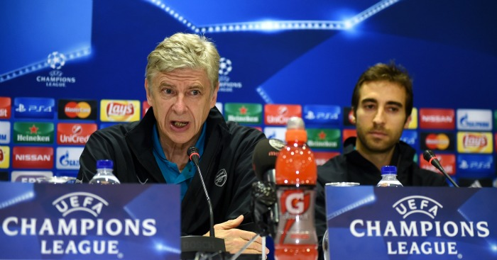 Arsene Wenger: Says Arsenal have been unlucky in Champions League