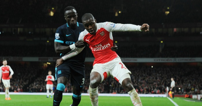 Bacary Sagna: Right-back made first appearance at former club