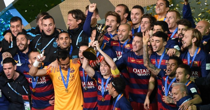 Barcelona: Celebrate their FIFA Club World Cup triumph