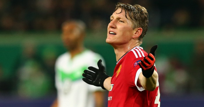 Bastian Schweinsteiger: Criticised by LVG