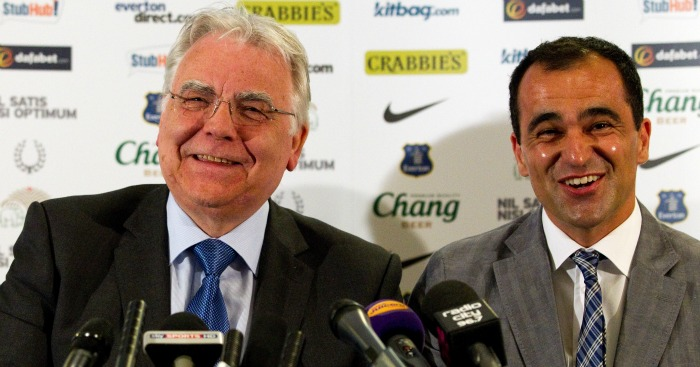 Roberto Martinez: Has total faith in Everton chairman Bill Kenwright