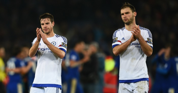 Cesar Azpilicueta, and Branislav Ivanovic: Applaud Chelsea's fans