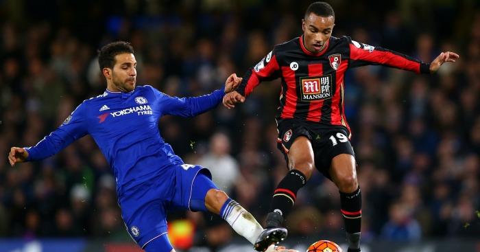 Cesc Fabregas: Tackles Junior Stanislas at Stamford Bridge