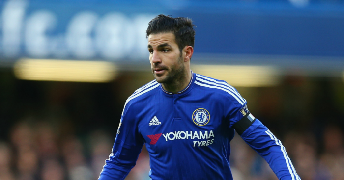 Cesc Fabregas: Reportedly wanted in the Far East
