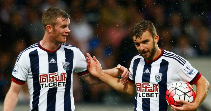 Chris Brunt & James Morrison: Duo wary of festive period