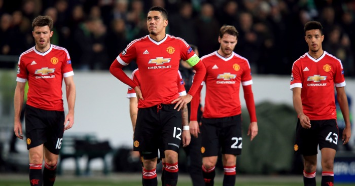 Chris Smalling: Has been added to Manchester United's injury list