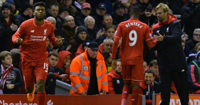 Christian Benteke: Wants another season under Klopp