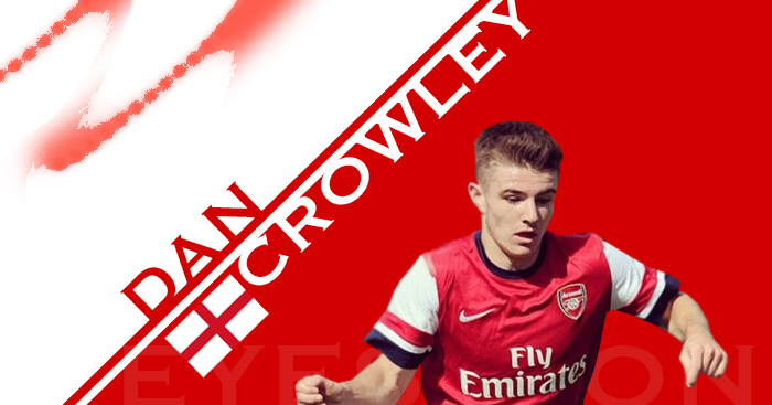 Dan Crowley: Highly rated by Arsenal