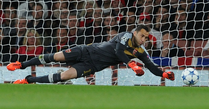 David Ospina: Goalkeeper has lost his place to Petr Cech